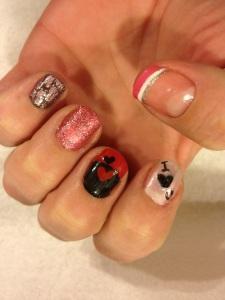 Valentine's Nails <3