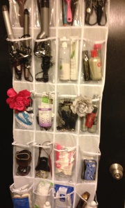 Shoe Rack to Bathroom Organizer