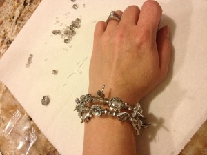 Bead and CharmBracelet