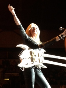 Lita Ford w/Def Leppard & Poison Rock of Ages 2012 St. Louis, MO