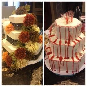 Practice Wedding Cake